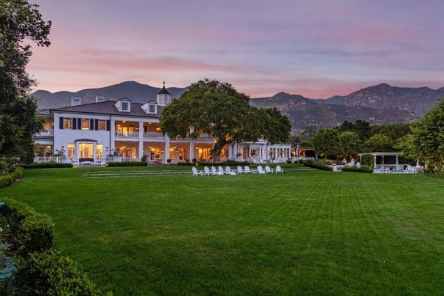 rob lowe's house in montecito california