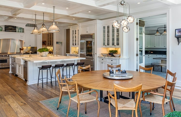 rob lowe house in montecito california kitchen