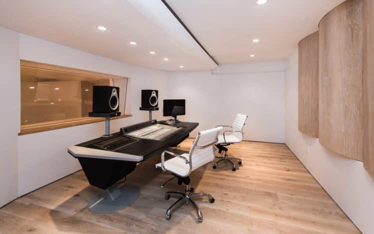 justin bieber house recording studio
