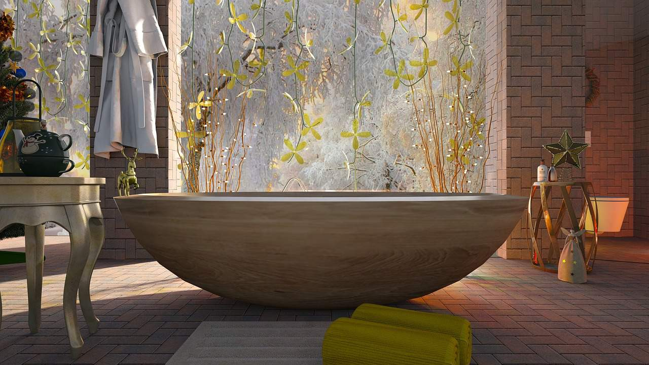 making your bathroom luxurious