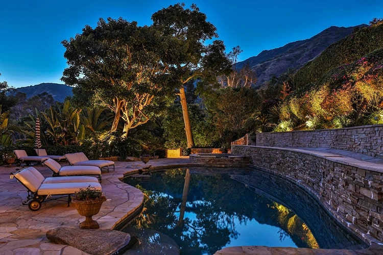 luxury Malibu Estate Previously Owned by Kelsey Grammer