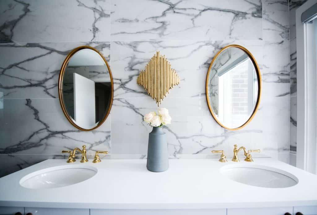 luxury bathroom redesign