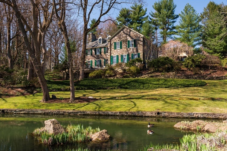 luxury house at 146 Cheswold Valley Road, Haverford, PA