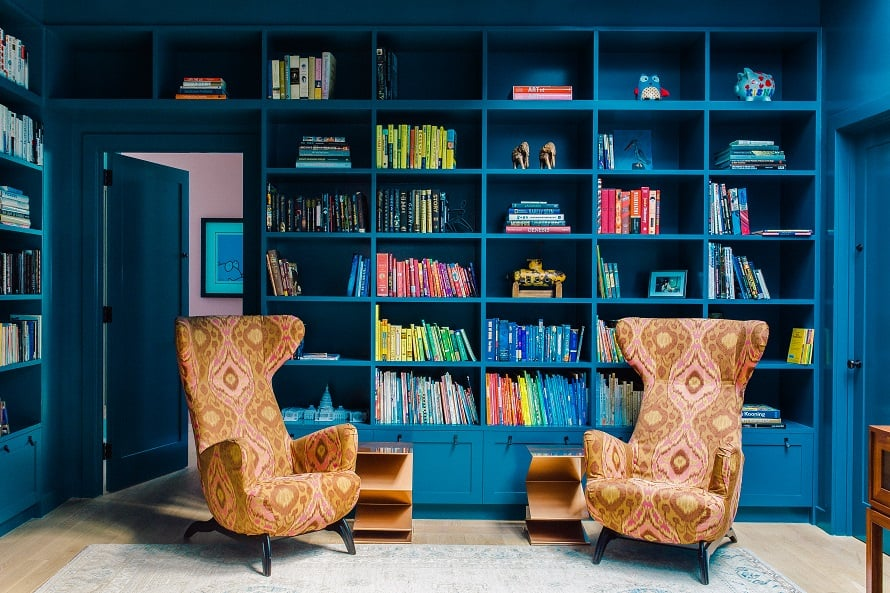 homes with gorgeous libraries