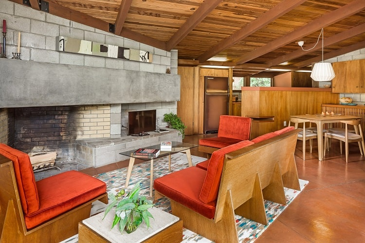 palo alto mid-century home designed by aaron green