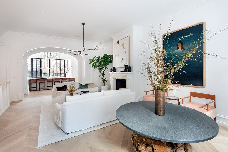 luxury Brownstone home for sale at 81 Pierrepont Street, brooklyn heights