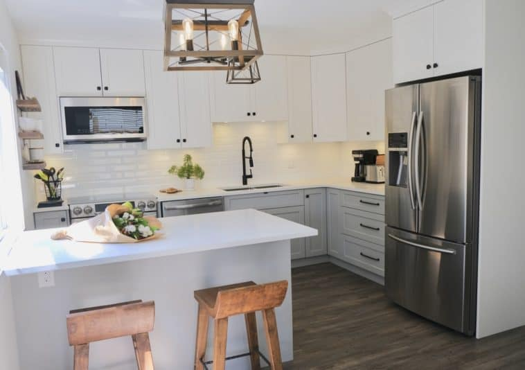 beautiful kitchen with appliances
