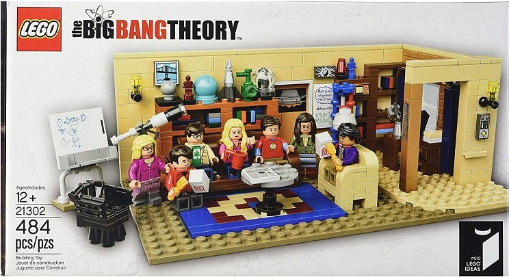 the big bang theory apartment lego set