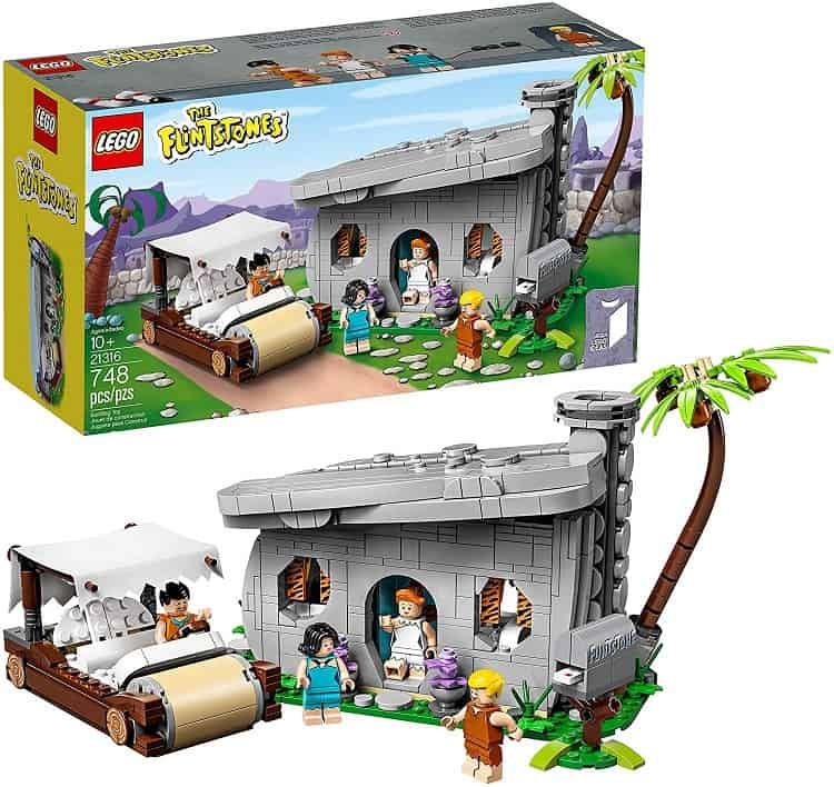 flinstone's house lego set