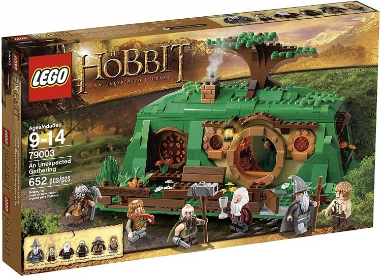hobbit house made from legos