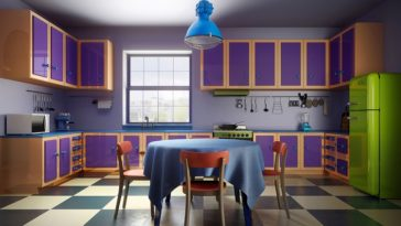 the simpsons home imagined in real life