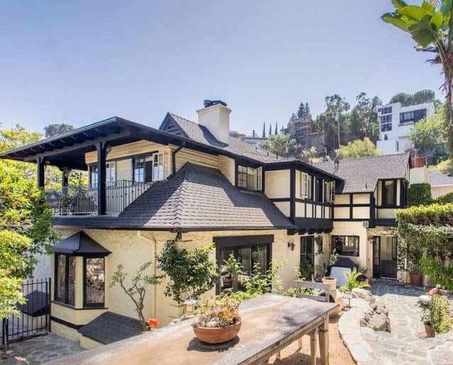 rachel hunter's house in hollywood hills