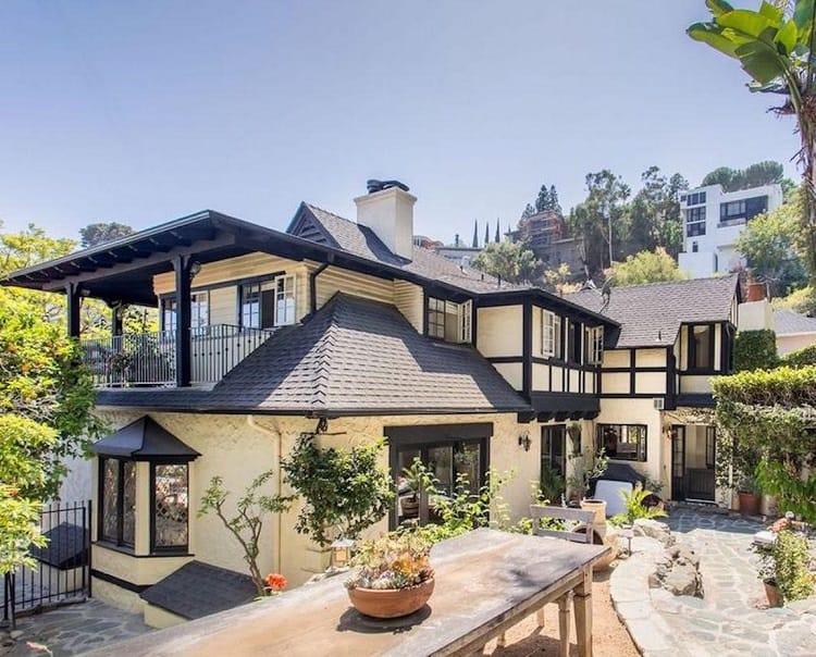 rachel hunter's house in hollywood hills