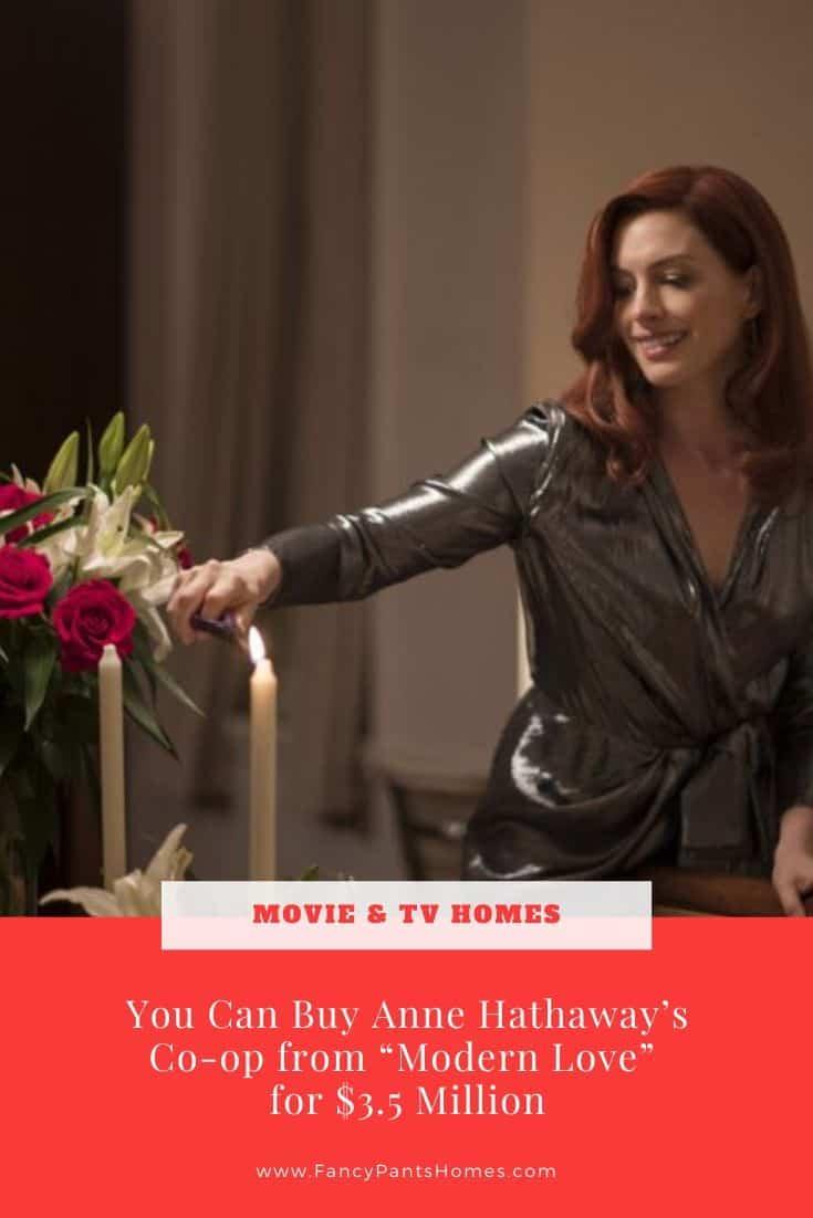 anne hathaway apartment in modern love amazon series