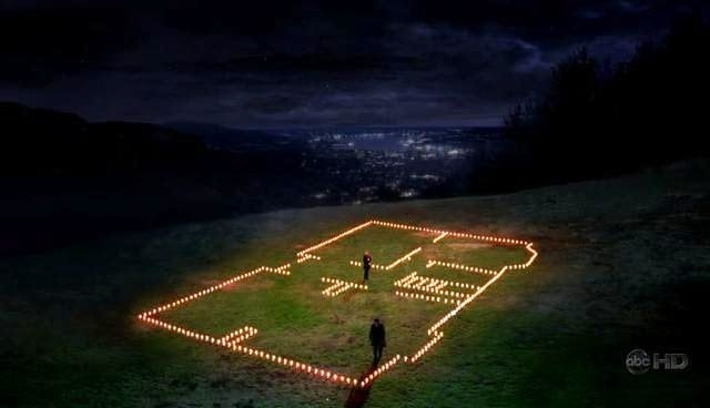 house mcdreamy built for meredith grey with candles