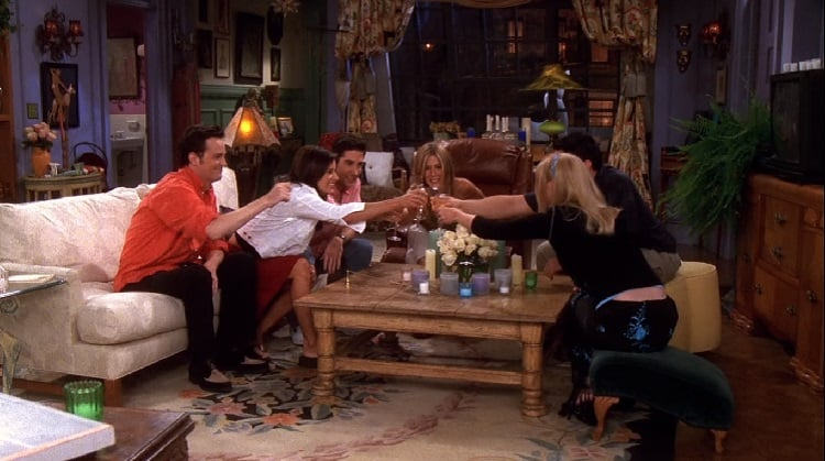 the apartment in friends