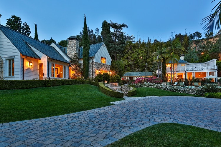 maison roger gated compound beverly hills