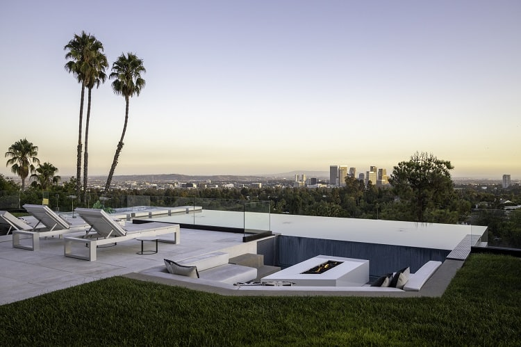 post malone rental home at 1201 laurel way, beverly hills