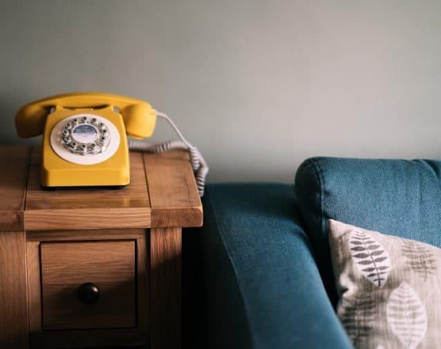 home phone old-school telephone