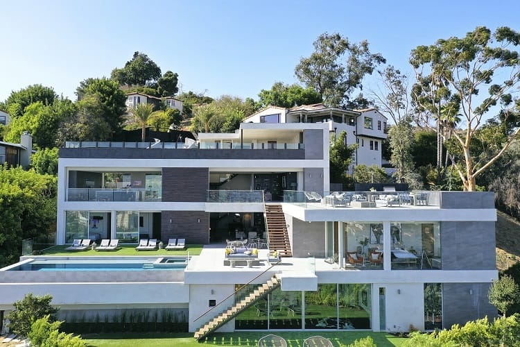 luxury home 6902 los tilos road los angeles