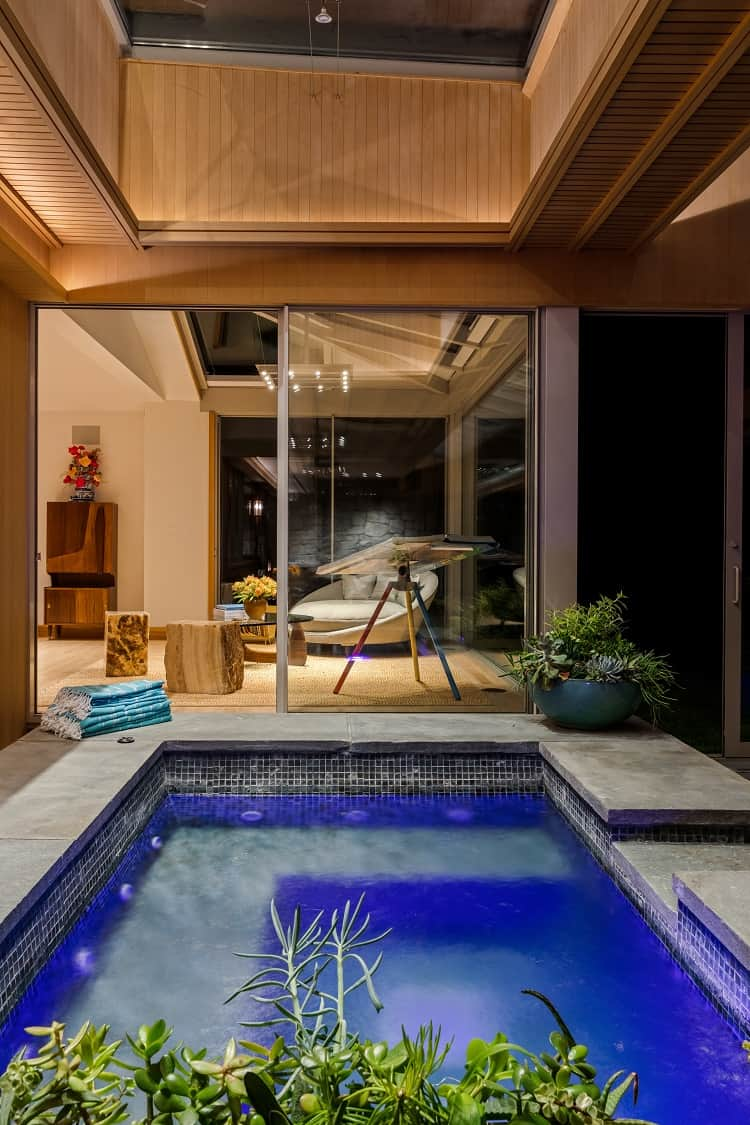 luxury home with indoor pool in the hamptons