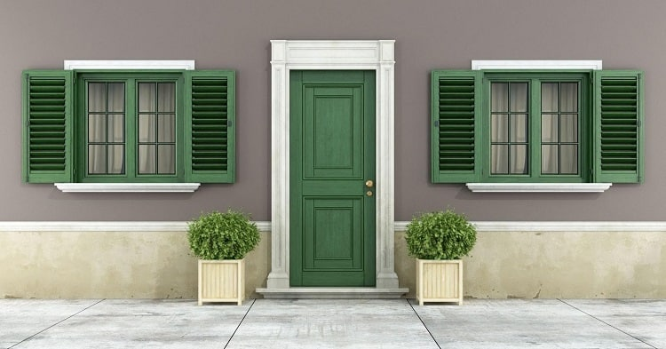 exterior window shutters featured image