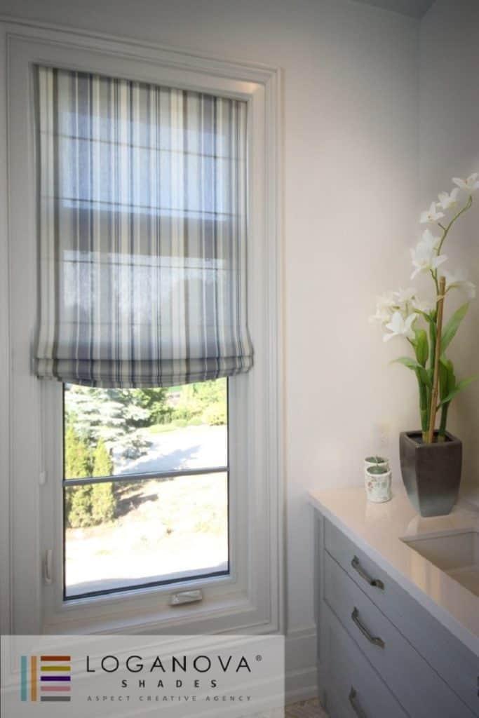 hallway window treatment