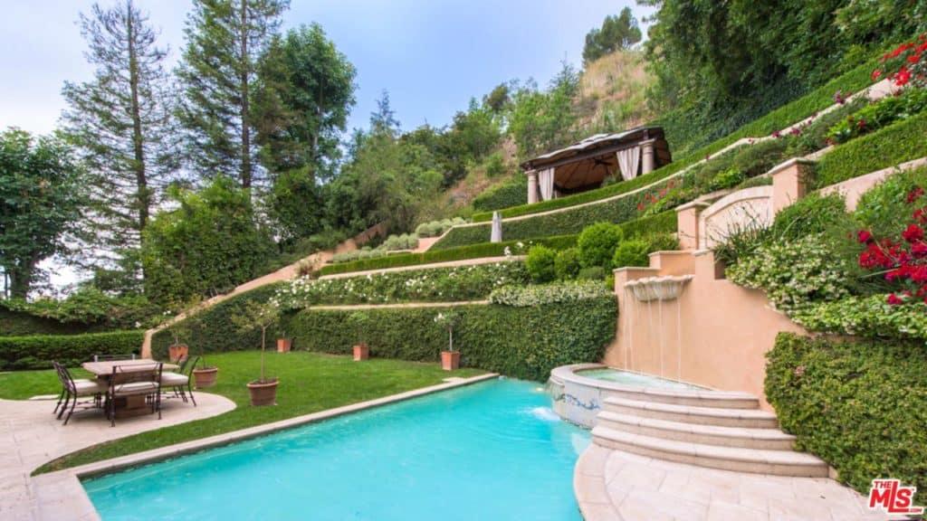 Kim Kardashian's former home in Beverly Hills