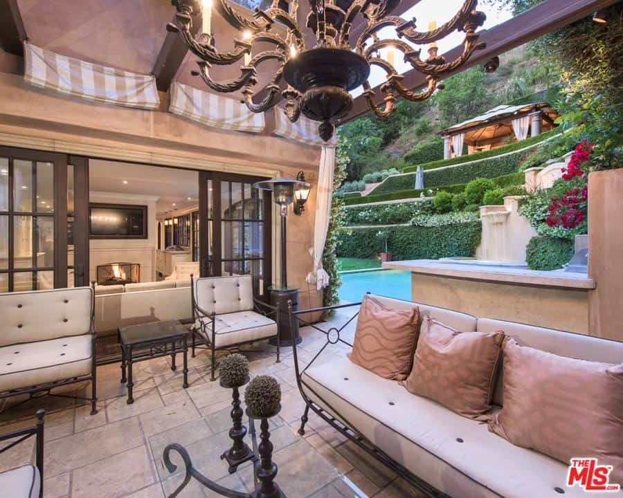 Kim Kardashian's former home in Beverly Hills