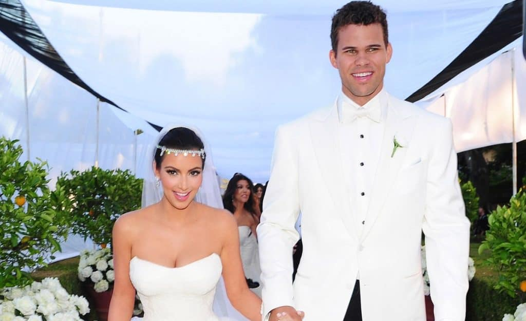 Kim Kardashian and Kris Humphries wedding in 2011