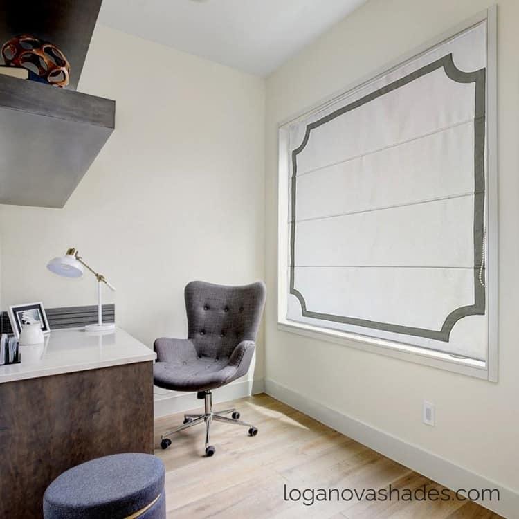 office window treatment