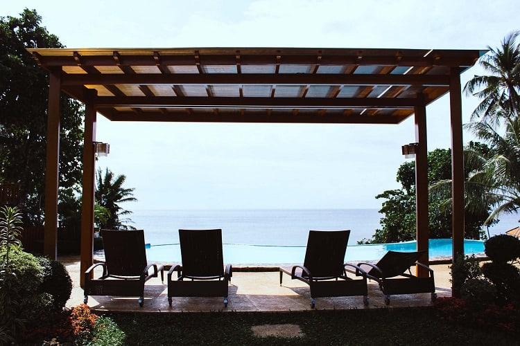 pool pergola outdoor design