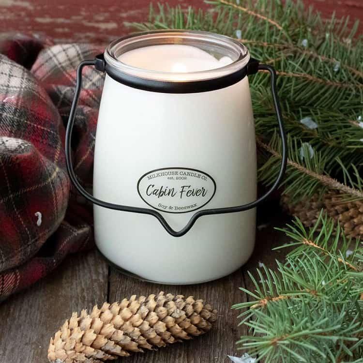 scented candle on amazon milk jug