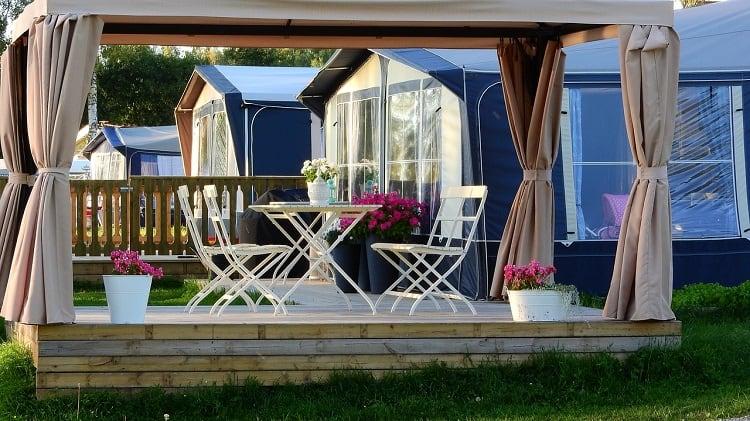 wood pergola outdoor design