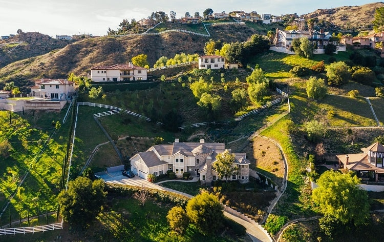 shaquille oneal house los angeles