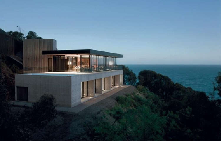 Clifftop house, Australia