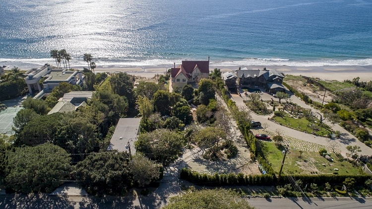 anthony hopkins house in malibu