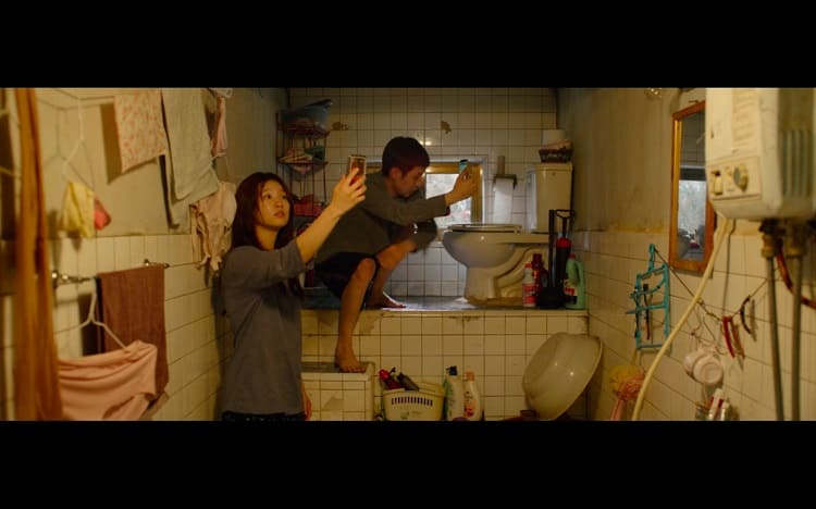 house of the kim family in parasite