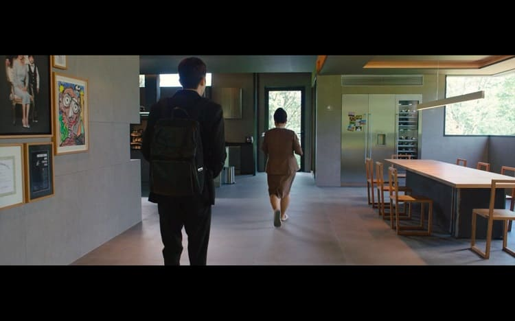 house in the movie parasite