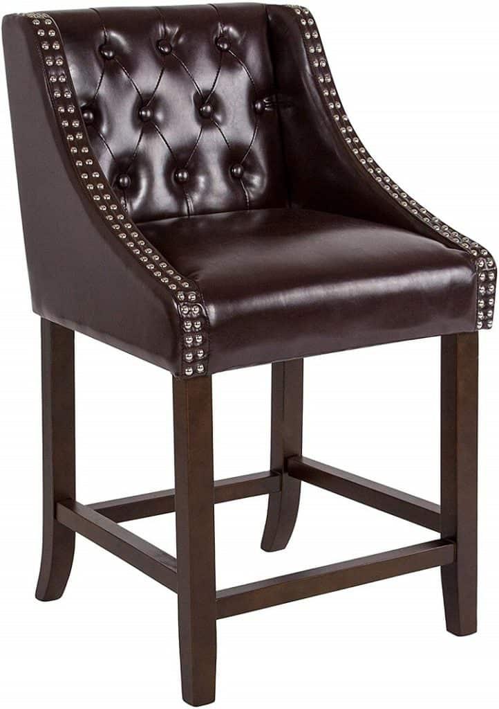 transitional bar stool