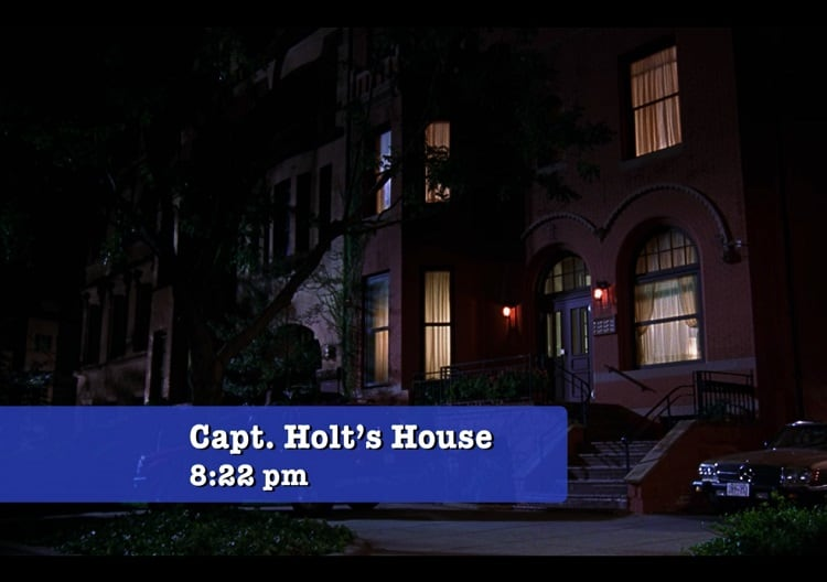 captain holt house in brooklyn nine nine