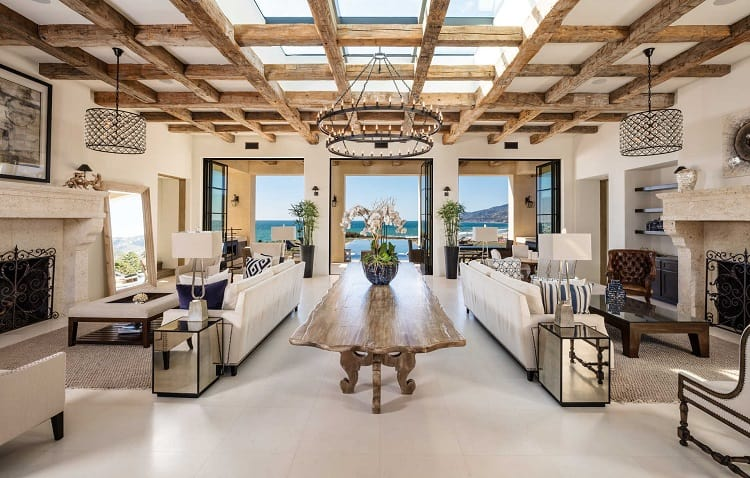 luxury celebrity house malibu