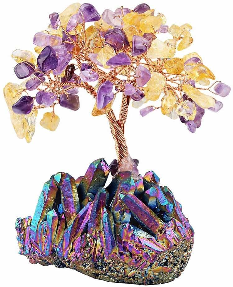 bonsai crystal tree