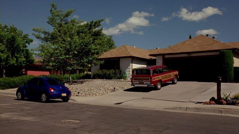 Walter White driveway