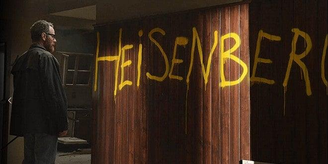Heisenberg writing on the wall