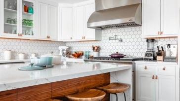 bright kitchen granite countertops
