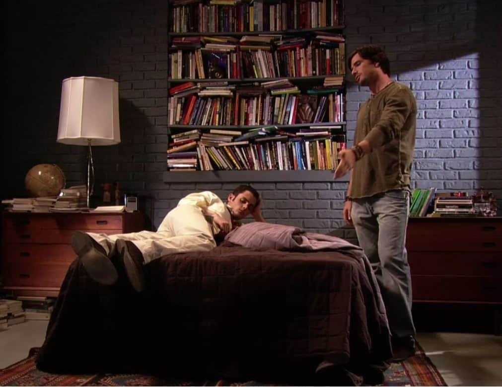 dan's bedroom on gossip girl