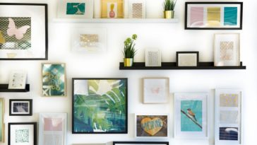 hanging wall art in your home