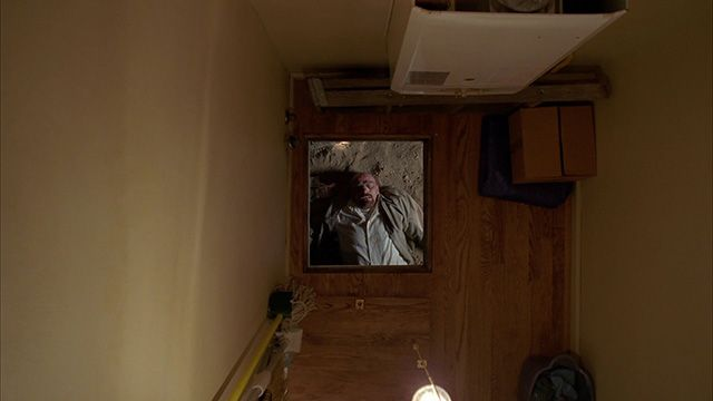 Walter White crawl space