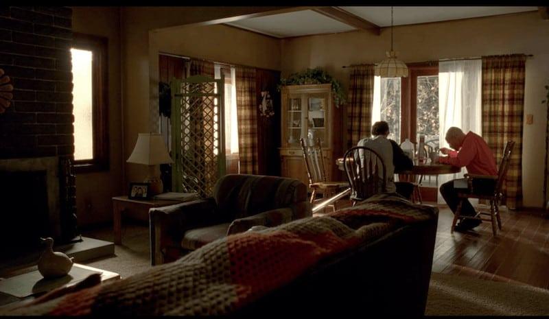 Walter White living room
